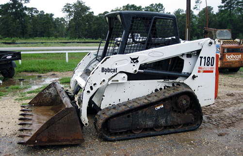 Bobcat T180 Side Compact Track Loader CTL