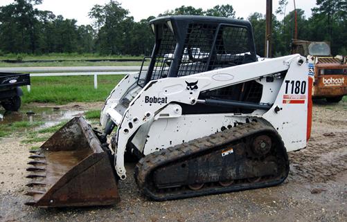 Bobcat T180 Side Compact Track Loader CTL